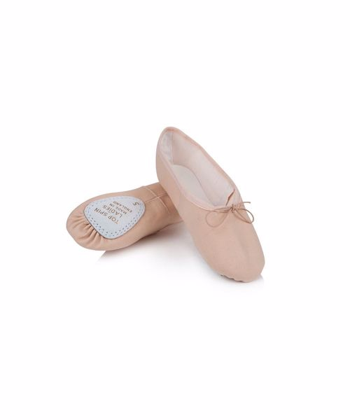 Picture of Ladies Canvas Top Spin Ballet Shoe Junior