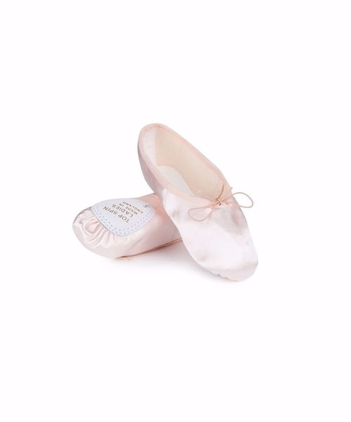 Picture of Ladies Satin Top Spin Ballet Shoe Adult