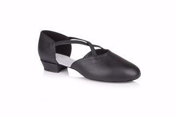 """UK 3.5 UK 4.5 /& UK 6.... Freed Moonstone Red 1.7/"""" Heel Closed Toe Dance Shoes"""