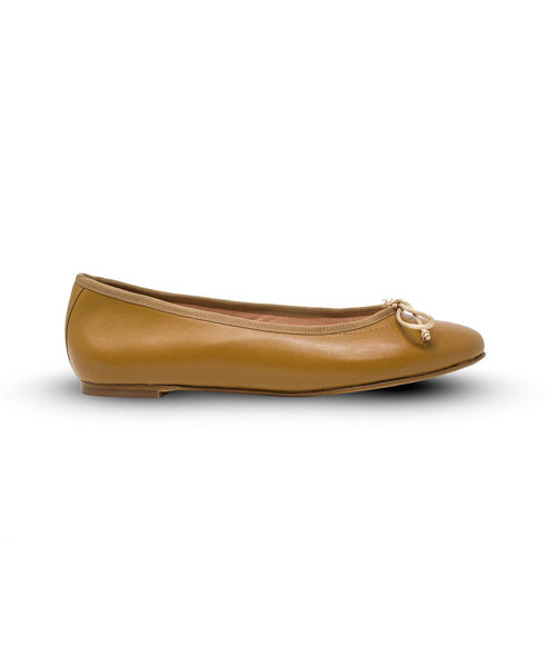 Picture of Ballet Flat - Biscuit