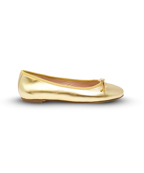 Picture of Ballet Flat - Gold
