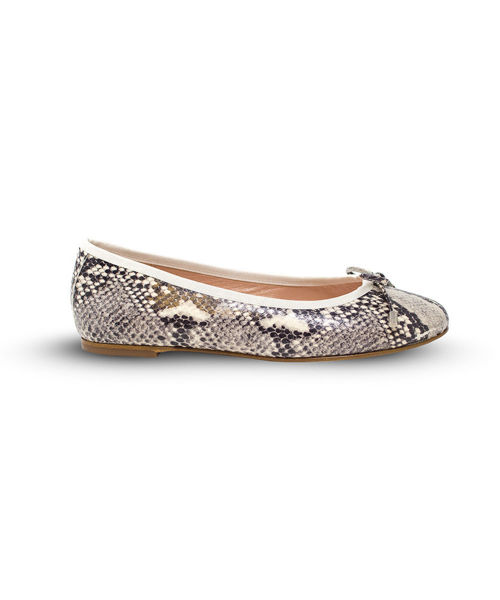 Picture of Ballet Flat - Snakeskin