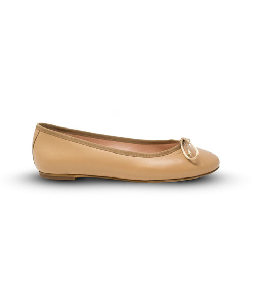 Picture of Ballet Flat - Tan