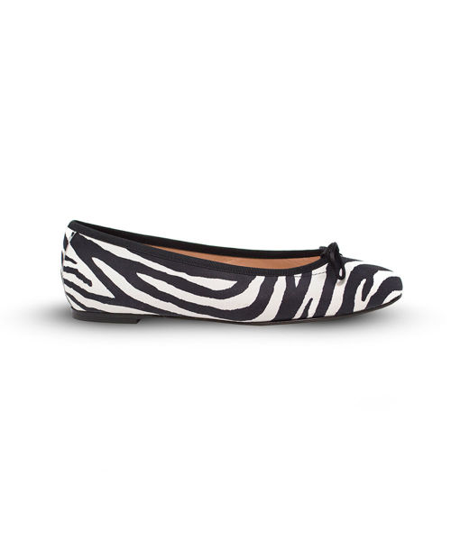 Picture of Ballet Flat - Zebra/Black