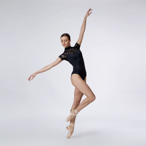 Picture of Lace Oval Back Leotard