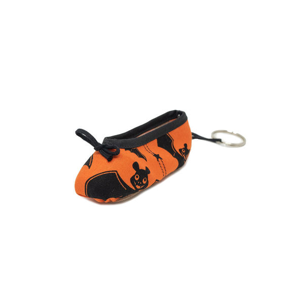 Picture of Halloween Themed Pointe Shoe Keyrings